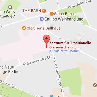TCM Berlin Anfahrt